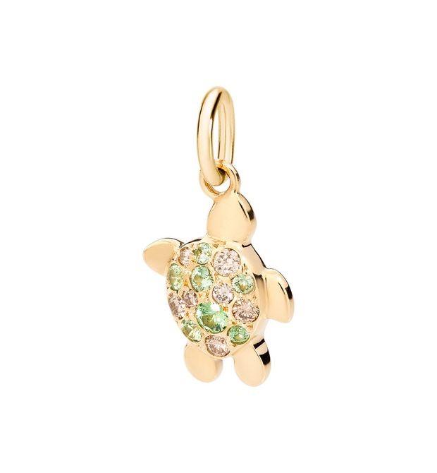 Charm Schildkröte Diamanten - Dodo - DMTUROG/B/TZ