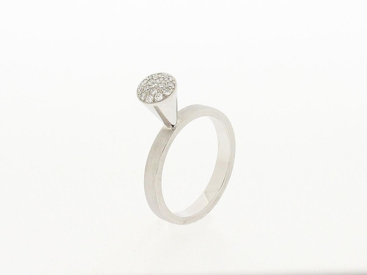 Ring 14ct Palladiumweißgold - GalerieVoigt - E4R55716