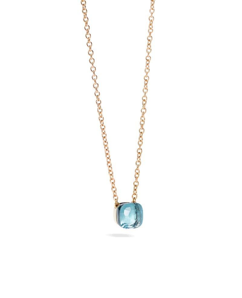 Kette Nudo Topas blau - Pomellato - F.B601/O6/OY/46