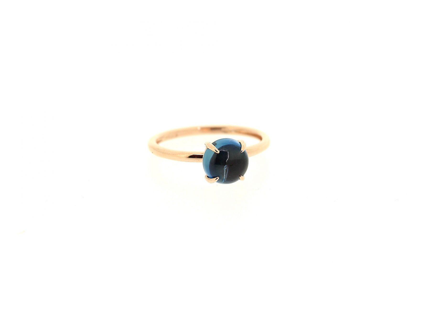 Ring London Blue Topas 18ct Gold - GalerieVoigt - FA1566RTL