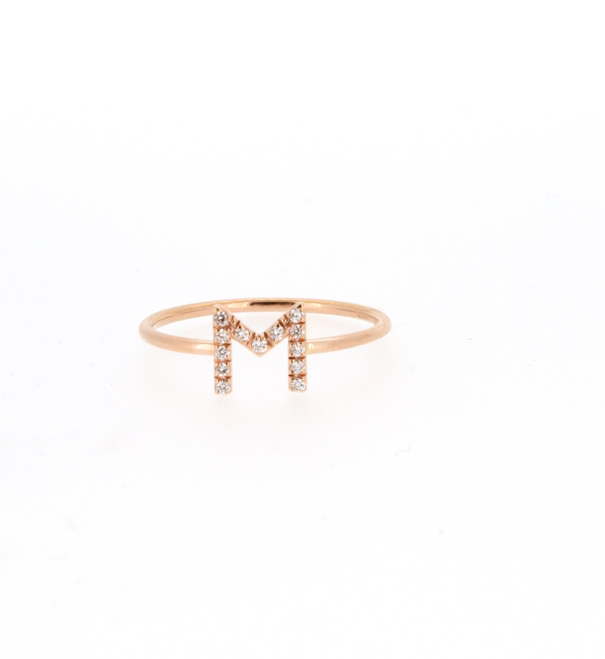Ring Buchstabe M 18ct Gold - GalerieVoigt - FA1781-MR001