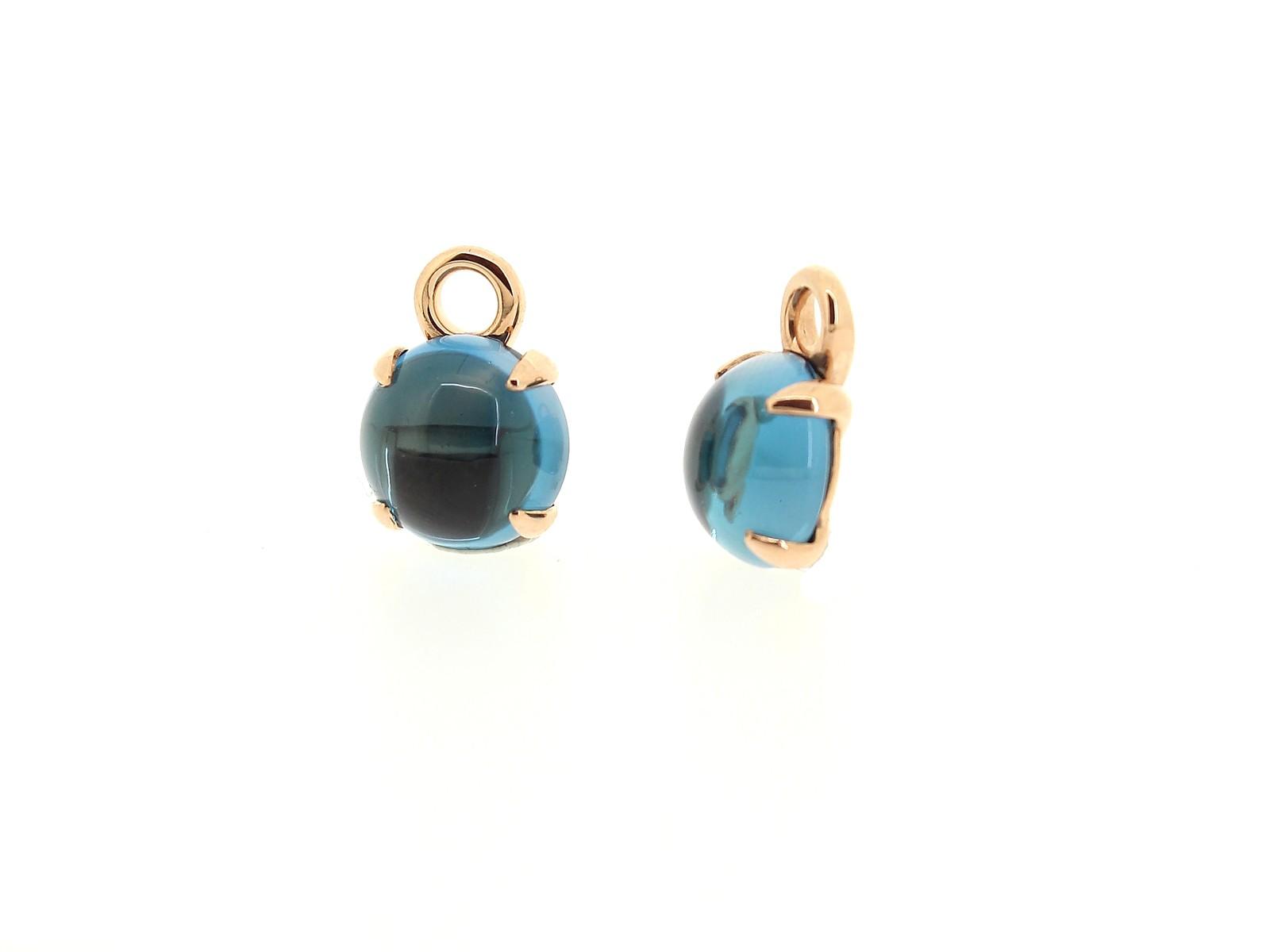 Einhänger London Blue Topas - GalerieVoigt - FO1570R14
