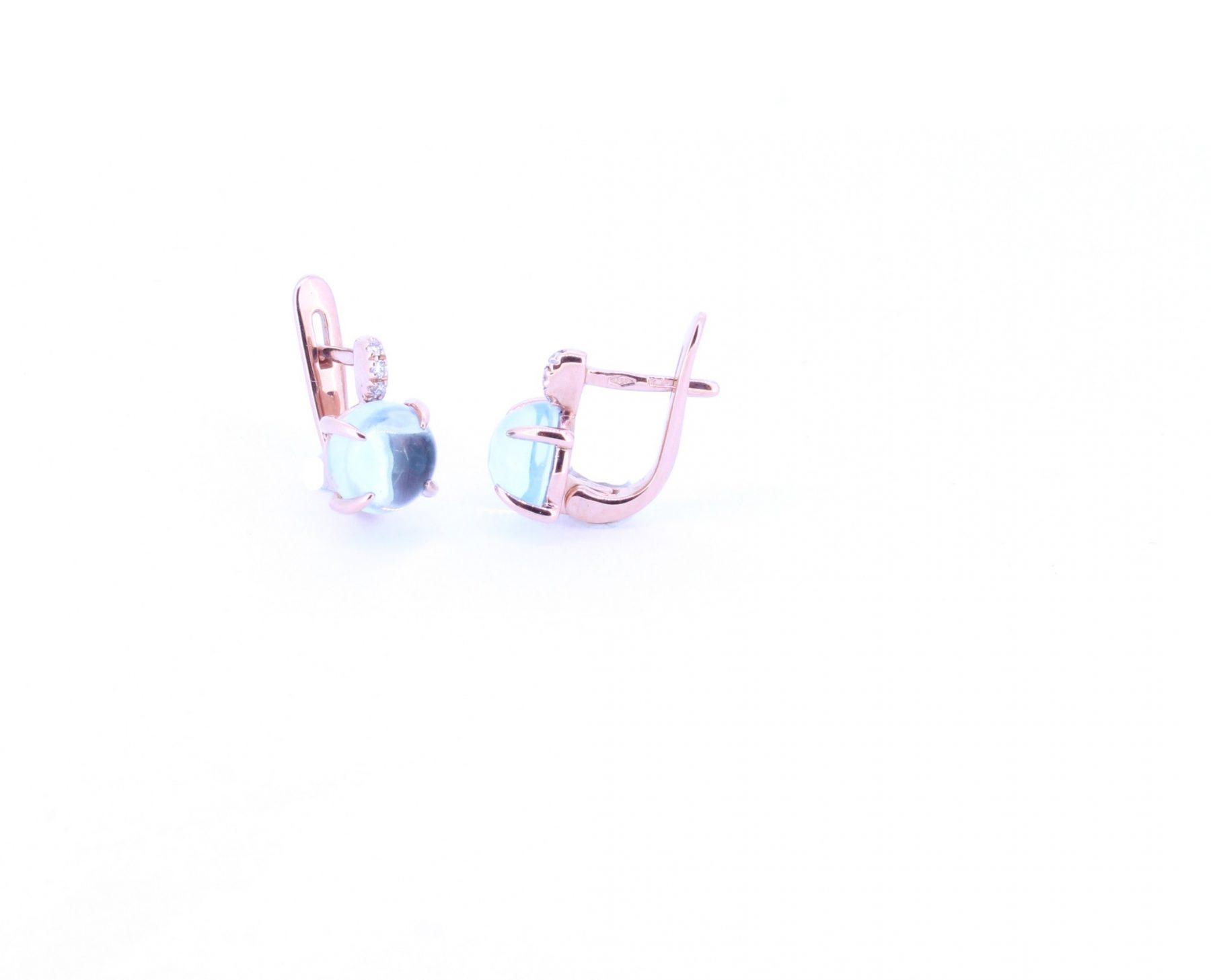 Ohrringe Candy Baby Topas sky - GalerieVoigt - FO2128R01001