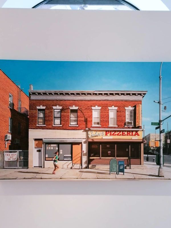 Claudio Filippini: GRAND AVE., Unikat, 2021, Öl auf Leinwand, 120 x 80 cm, 4.400 €