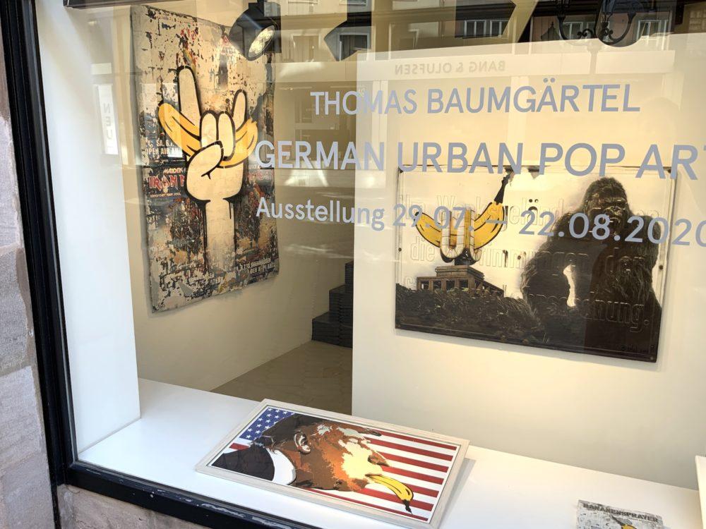 """Ausstellungsansicht """"GERMAN URBAN POP ART""""l ©GalerieVoigt"""