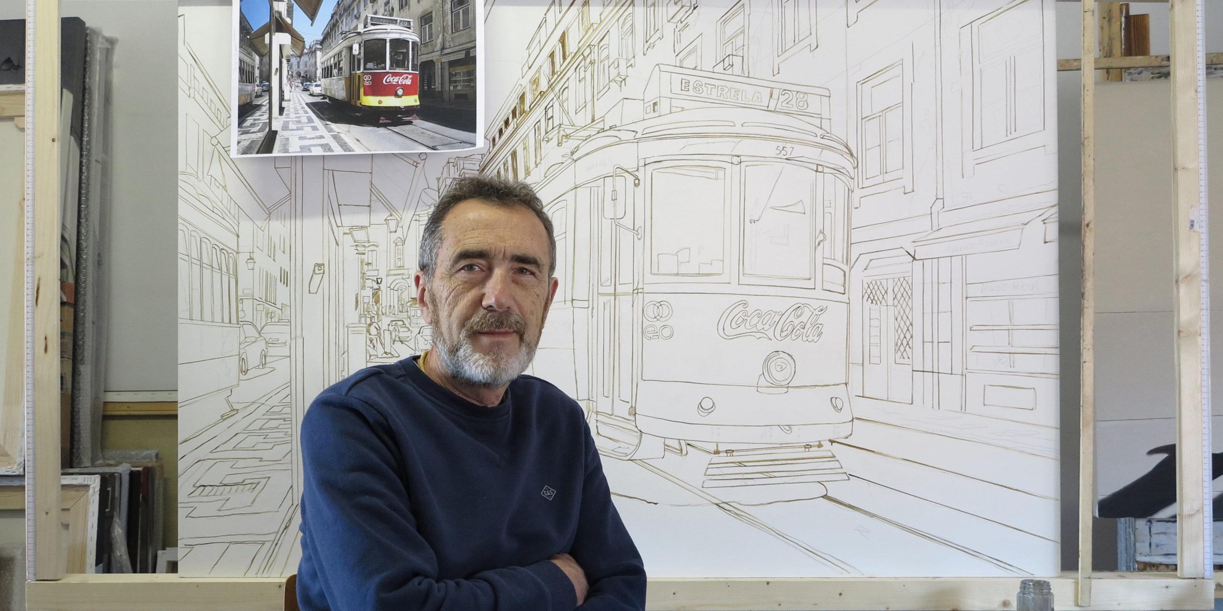 Claudio Filippini in seinem Atelier ©Claudio Filippini