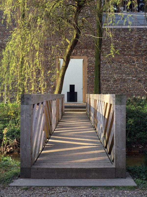Museum Insel Hombroich; Hohe Galerie, Begehbare Skulptur, Architektur: Erwin Heerich ©Tomas Riehle