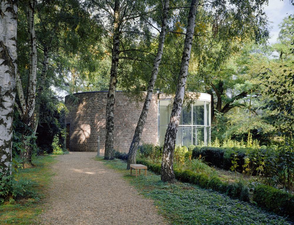 Stiftung Insel Hombroich, Graubner Pavillon, Architektur: Erwin Heerich ©Tomas Riehle