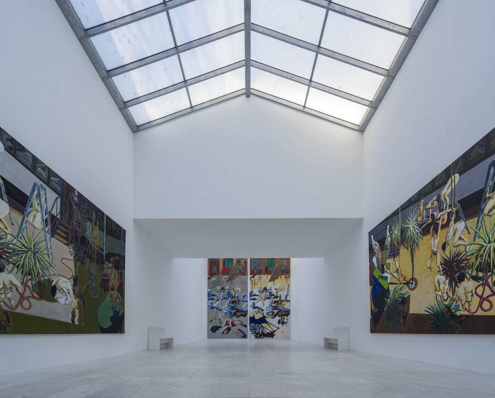 Museum Insel Hombroich; Tadeusz-Pavillon (nach der Renovierung 2015), Architektur: Erwin Heerich ©Tomas Riehle