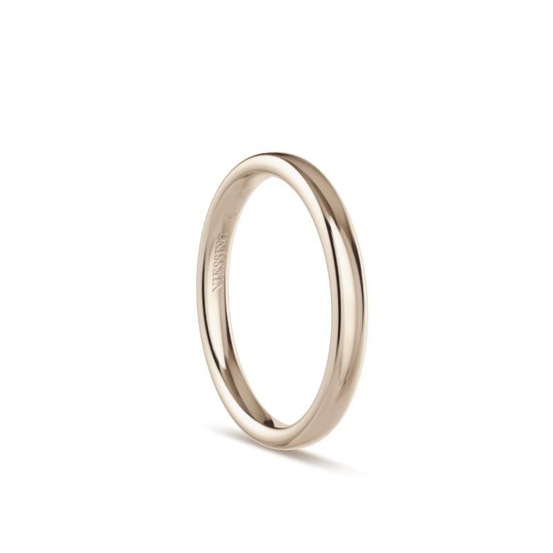 Ring Oval 18ct Rosewood - Niessing - N131292.2.5.rw