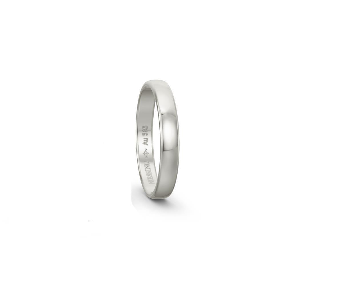 Ring 14ct Weißgold - Niessing - N131296.585.3.5