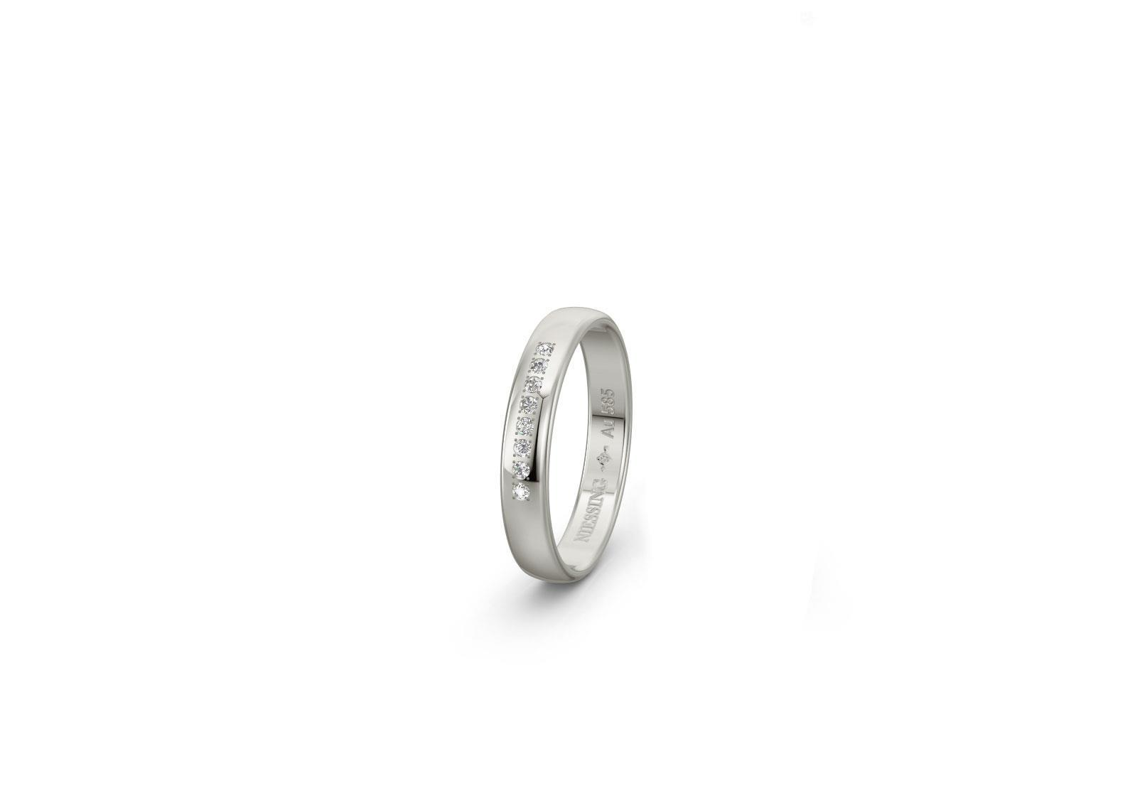 Ring 14ct Weißgold - Niessing - N131296S-1810101008