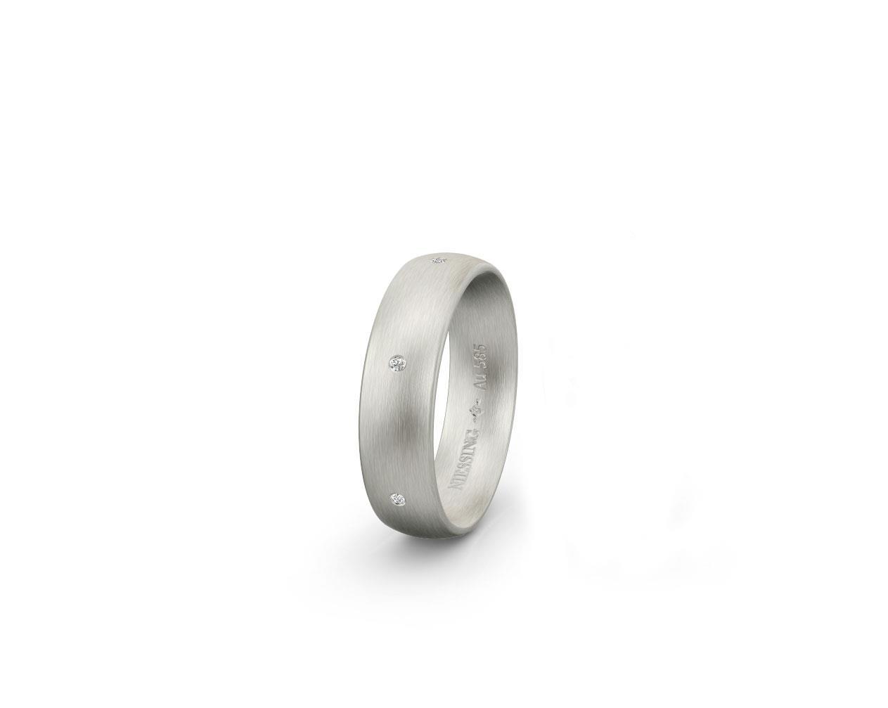 Ring 14ct Weißgold - Niessing - N131297S-10101003-10-12-14