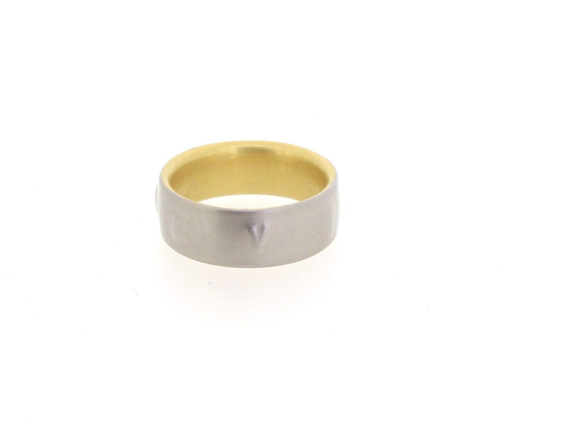 Ring Signum 950 Platin 18ct - Niessing - N151025-8,5-pt