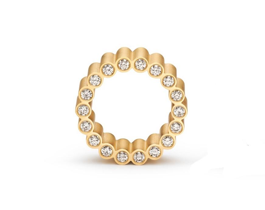 Ring Forum 18ct Gelbgold - Niessing - N261922