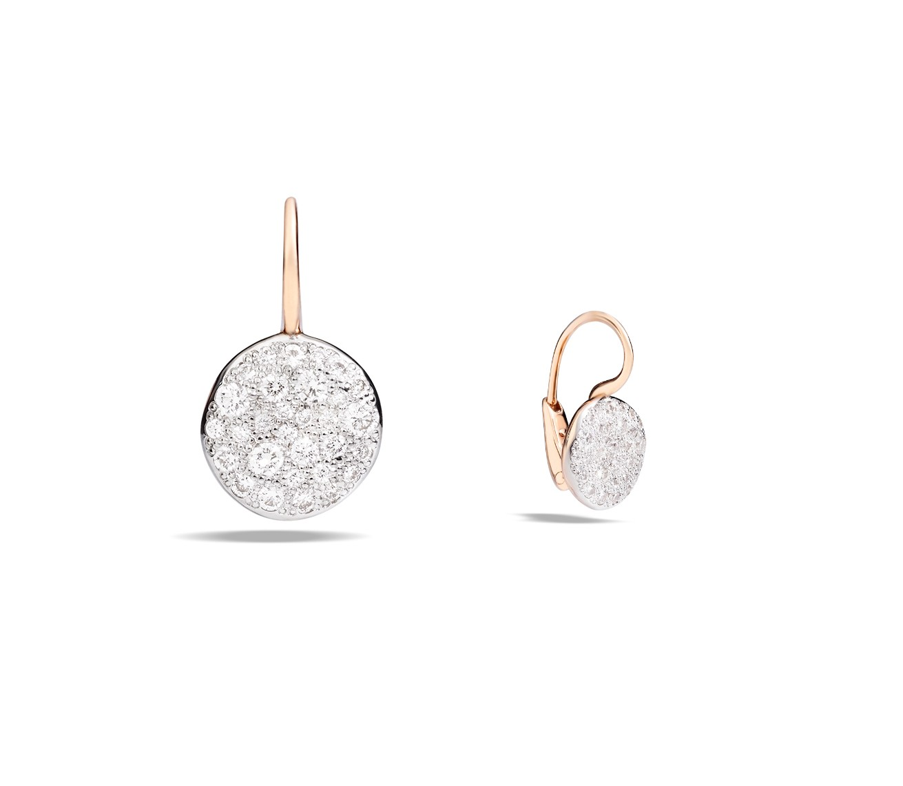Ohrringe Sabbia Diamanten weiß - Pomellato - O.B204HM07B9