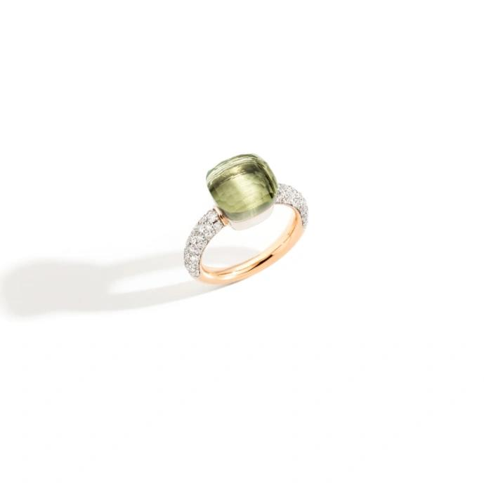 Ring Nudo Classic Prasiolith - Pomellato - PAC0040O6WHRDB0PA