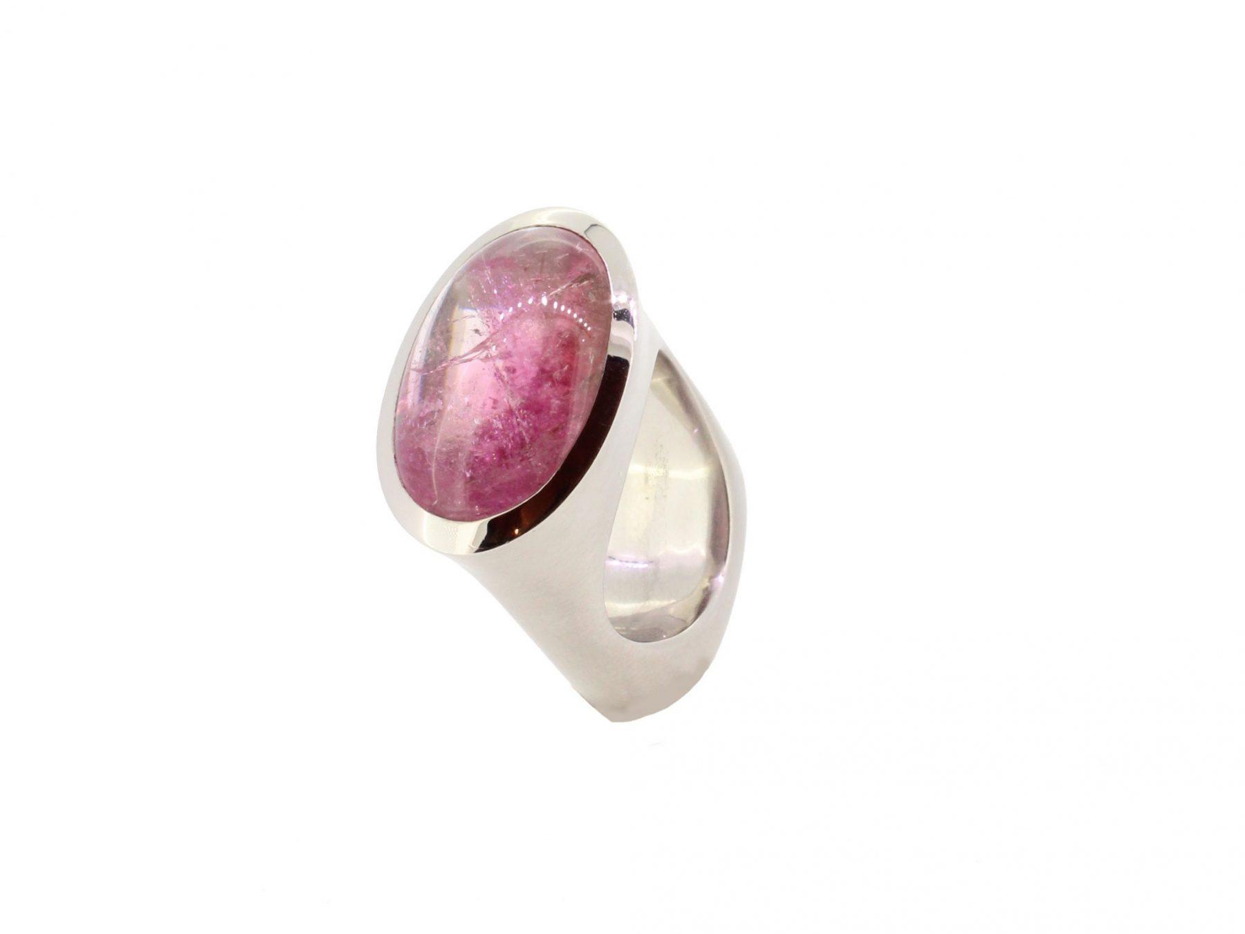Ring Doublette 950 Palladium - Individuelle Marken - R-4396