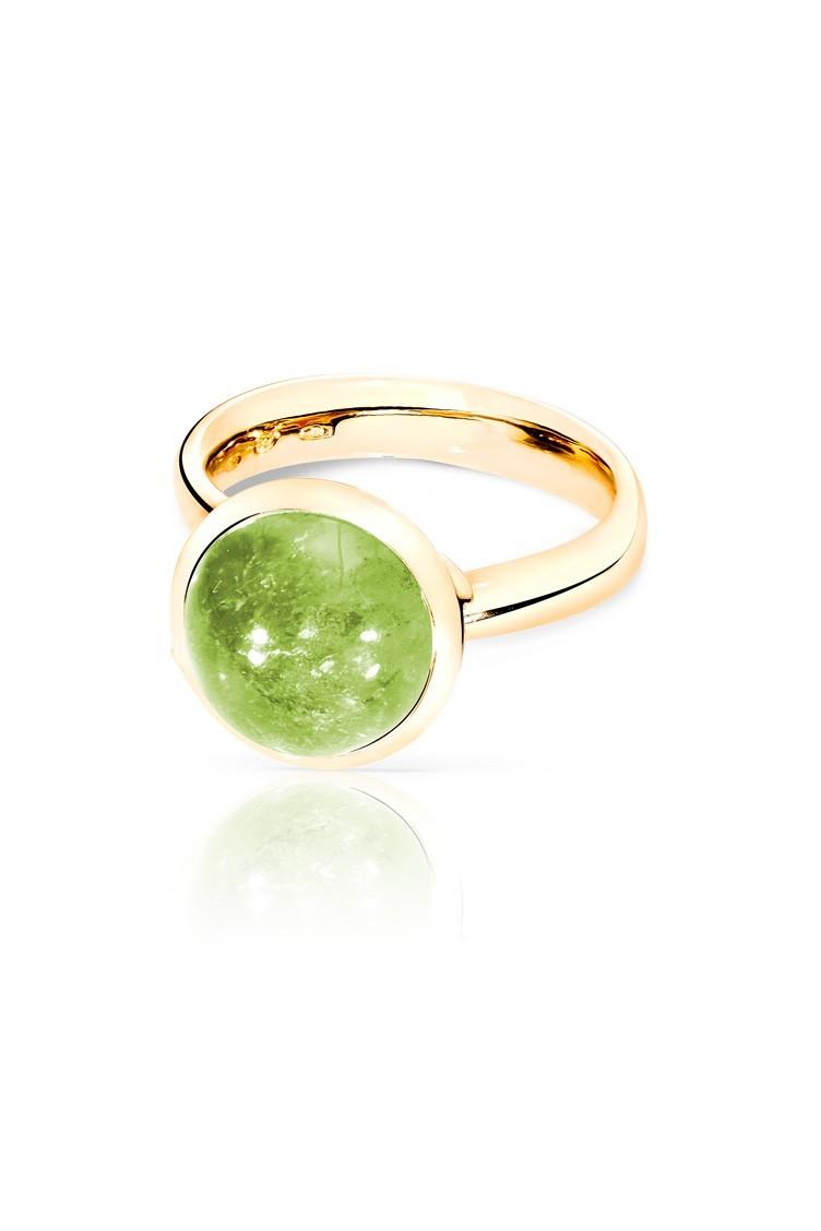 Ring Bouton 11mm Peridot - Tamara Comolli - R-BOU-L-Per-yg