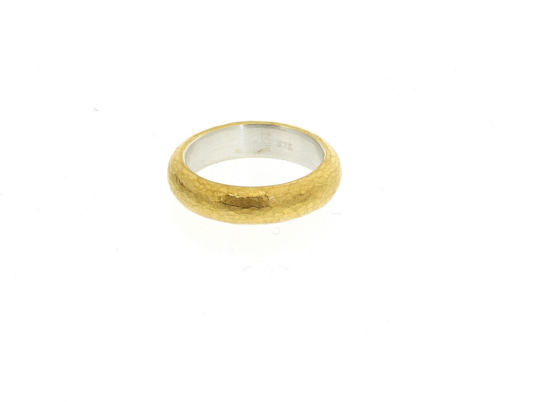 Ring 925 Silber Feingold - Monika Killinger - R1212