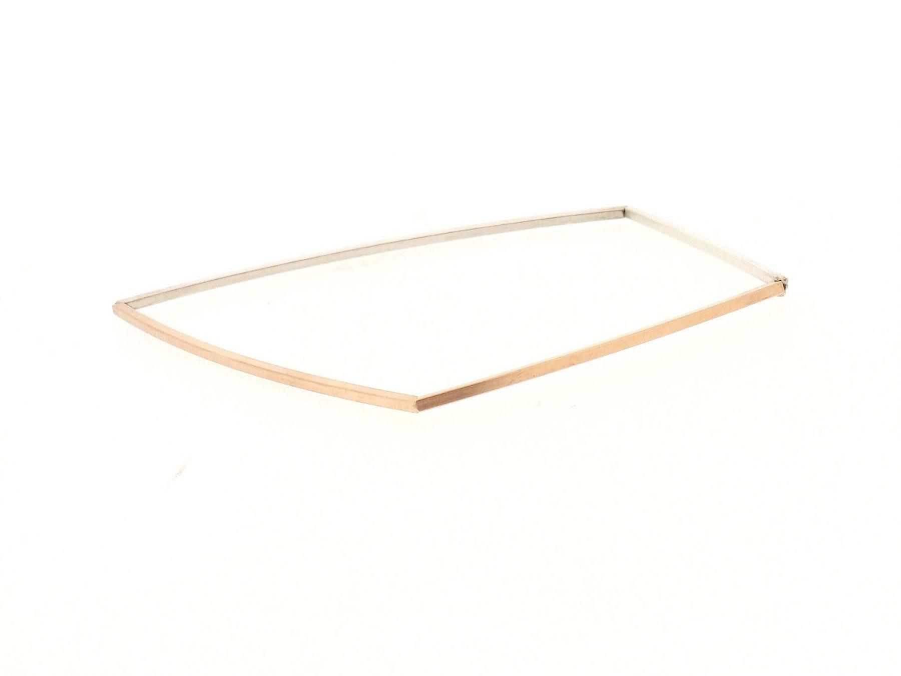 Armband 18ct Rotgold Silber - Autoren Schmuck - SK040330166