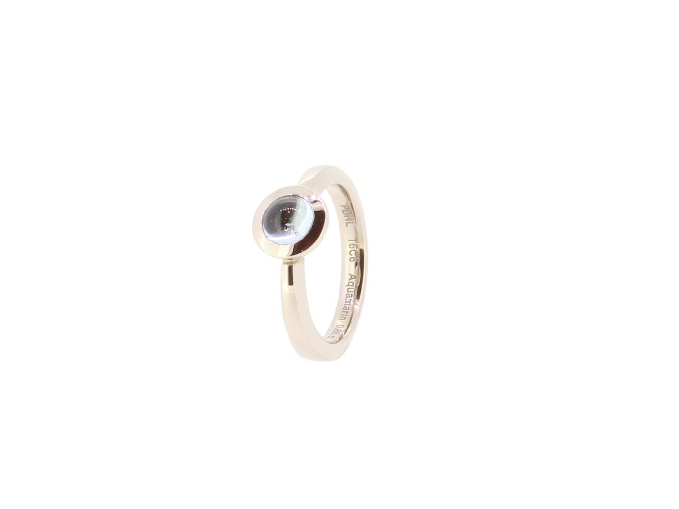 Ring Type Aquamarin 18ct Gold - Jochen Pohl - T6C6-Aqu