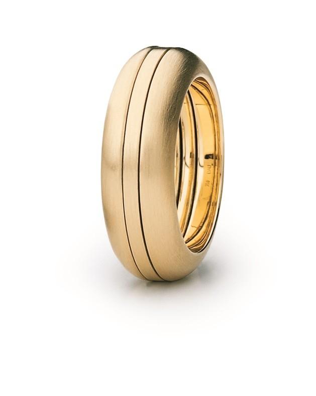 Ring Variabel 18ct Gelbgold - Carl Dau - VR51