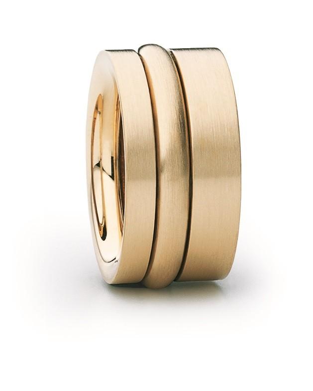 Ring Variabel 18ct Gelbgold - Carl Dau - VR60