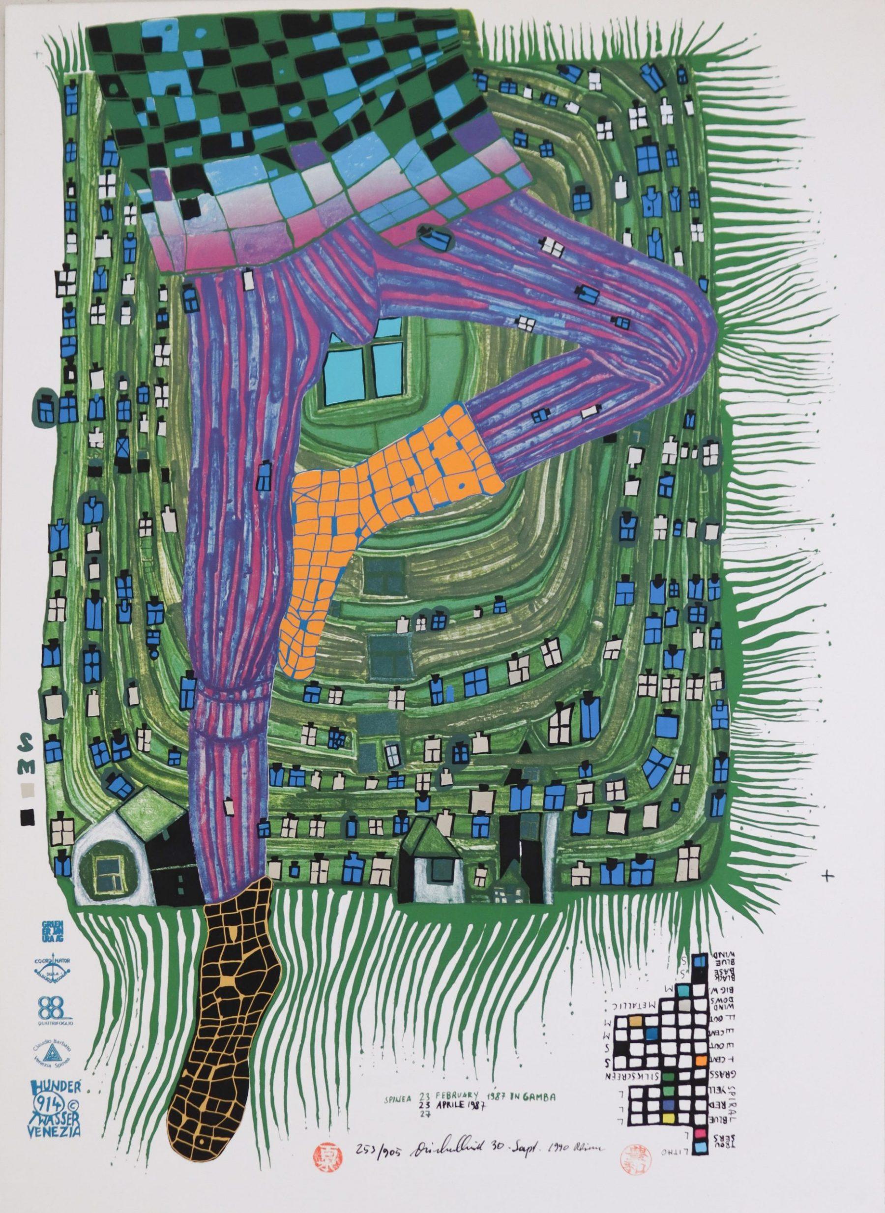 In Gamba - Hundertwasser, Friedensreich - k-05447