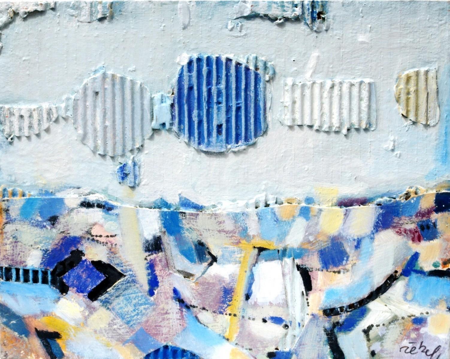 Collage o.T. - Rieckel, Helmut - k-06420