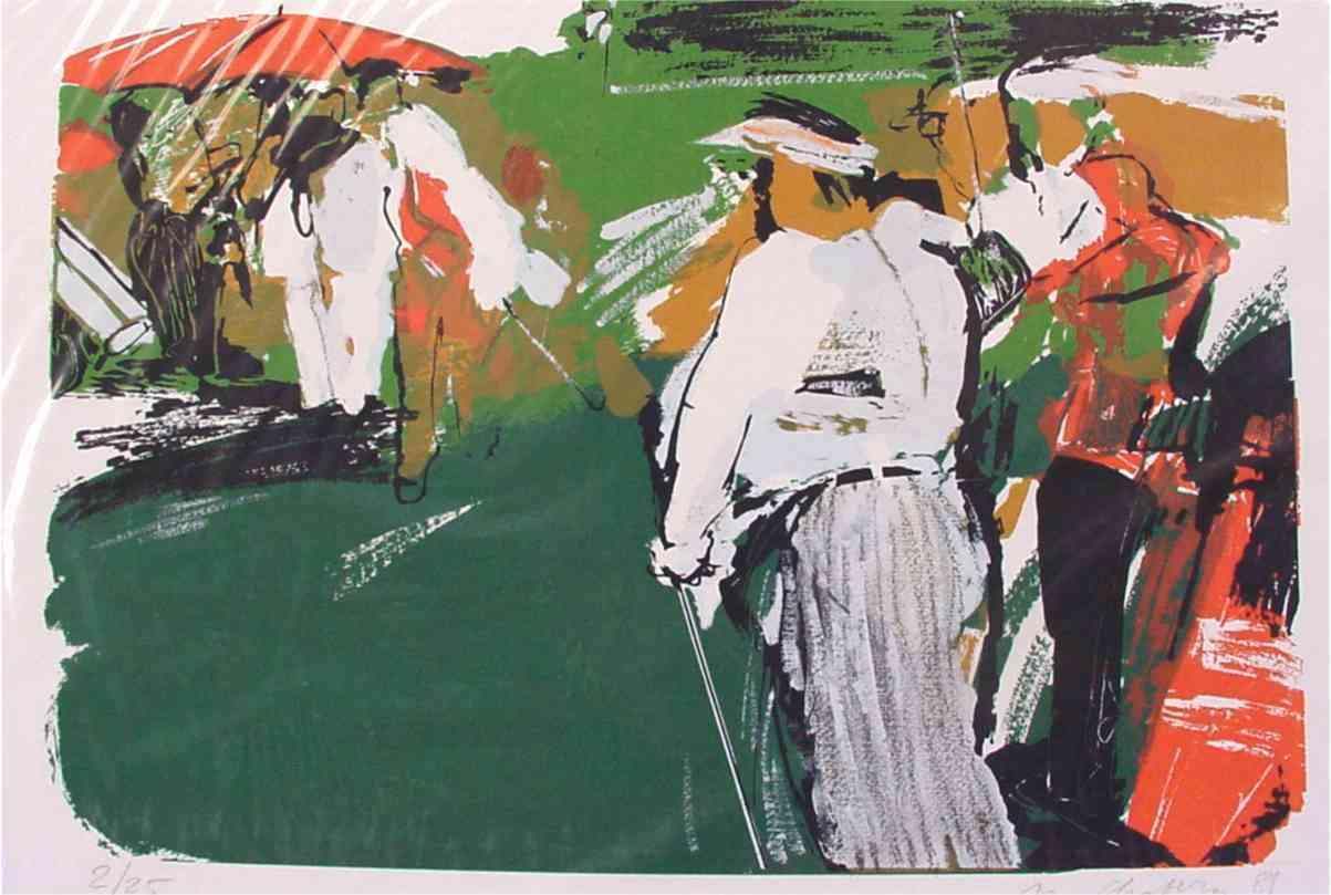 Golfmappe Blatt 1 - Chabera, Milan - k-11654