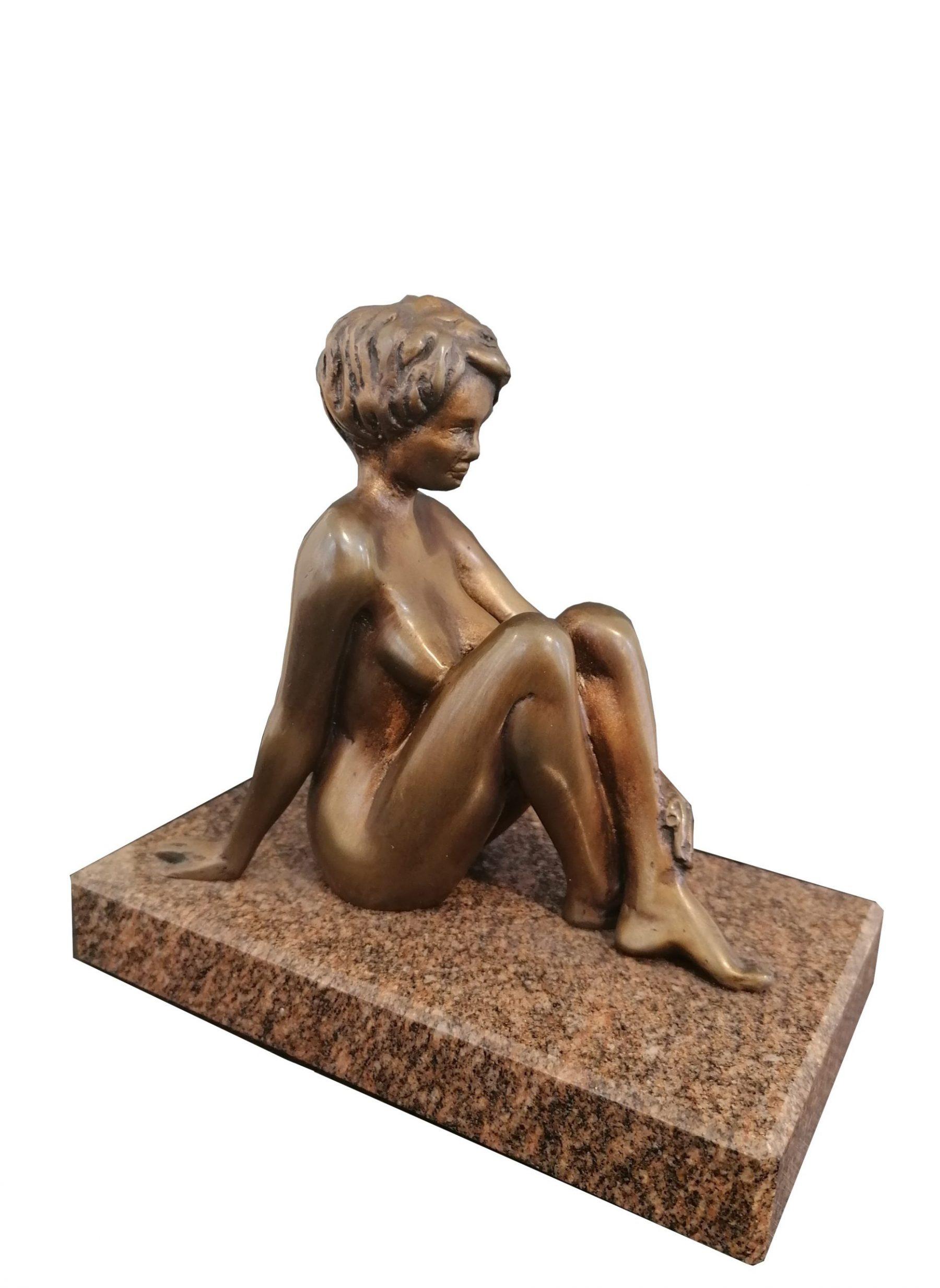 Kleine Sitzende - Delius, Maximilian - k-13679