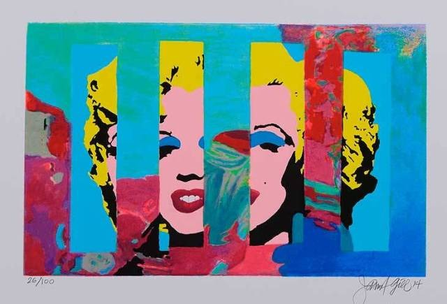 MARILYN IN THE SKY 5 - Gill, James Francis - k-1810GIL01