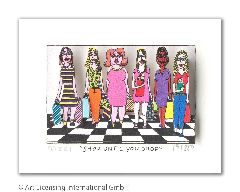 Shop until you drop - Rizzi, James - k-2005RIZ2