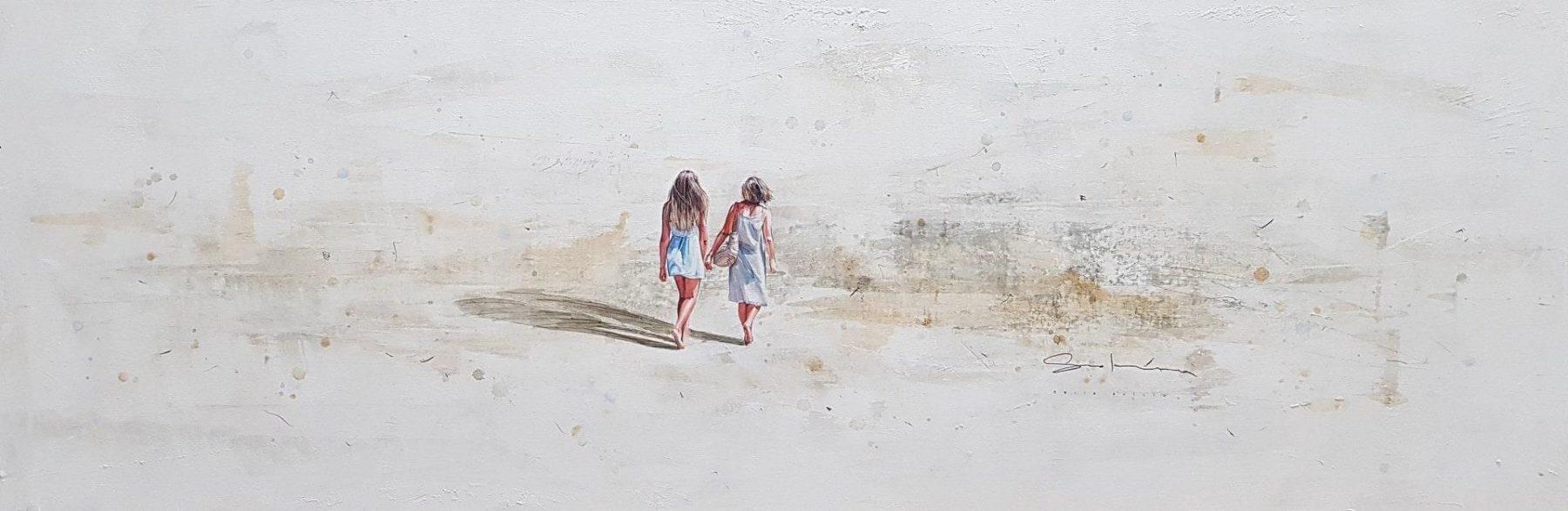 medre e hija en la playa - Solana, Berta - k-2007SOL2