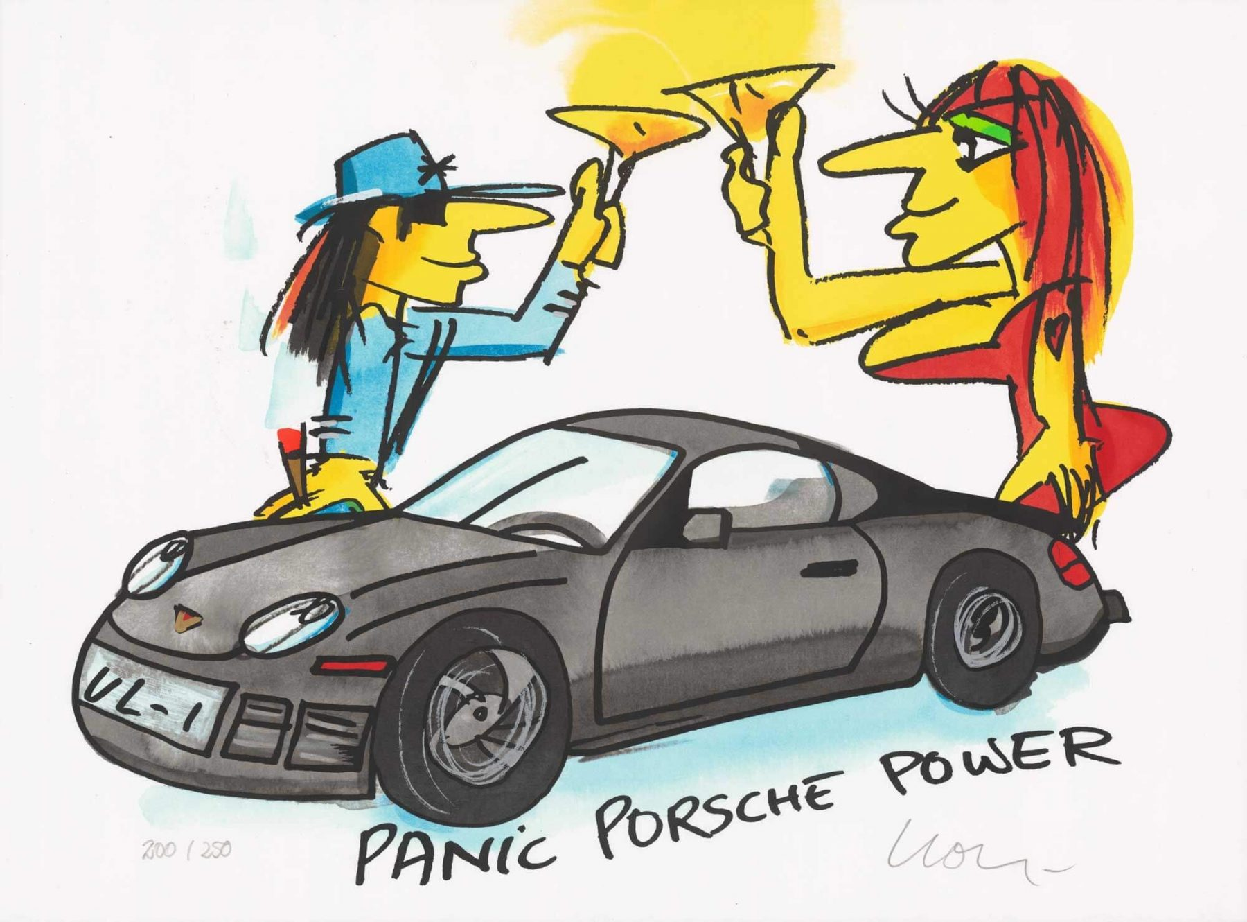 Panik Porsche Power - Lindenberg, Udo - k-2008LIN3
