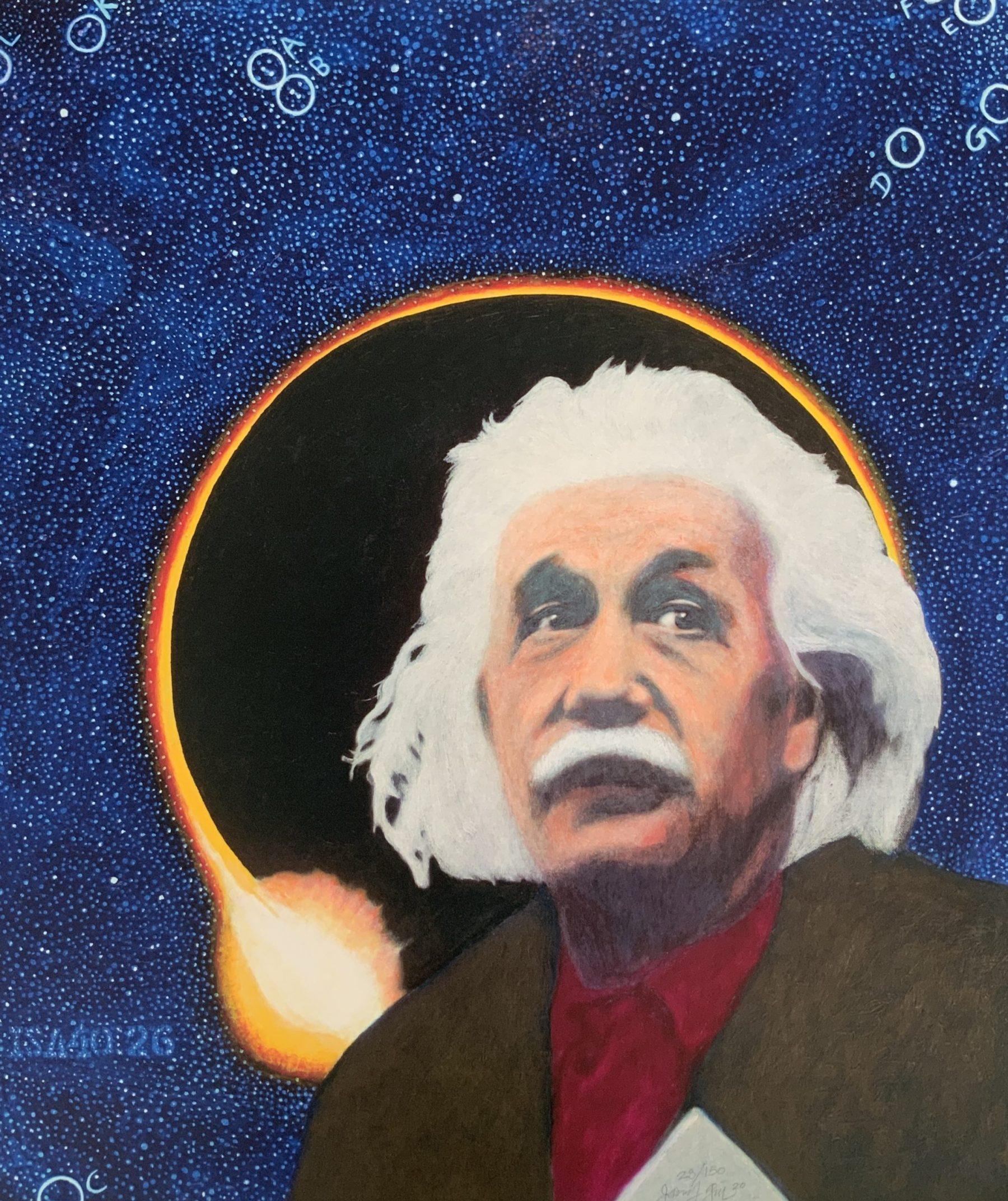 Einstein - Gill, James Francis - k-2010GIL1