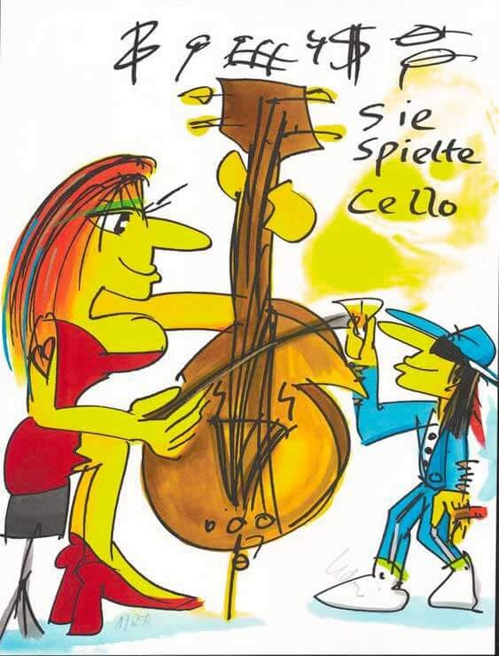 Sie spielte das Cello - Lindenberg, Udo - k-2012LIN6
