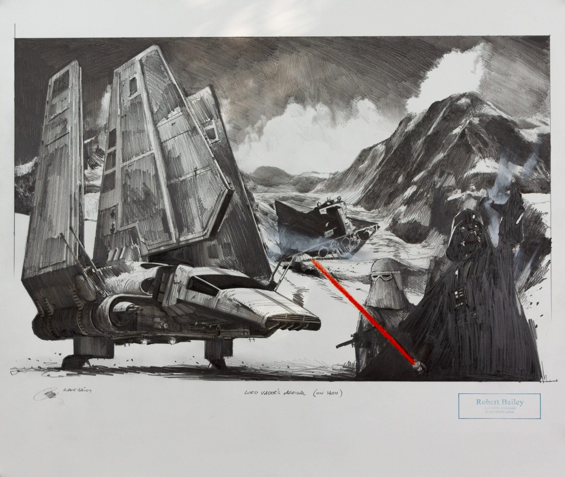 Lord Vader's Arrival - Bailey, Robert - k-2012RB4