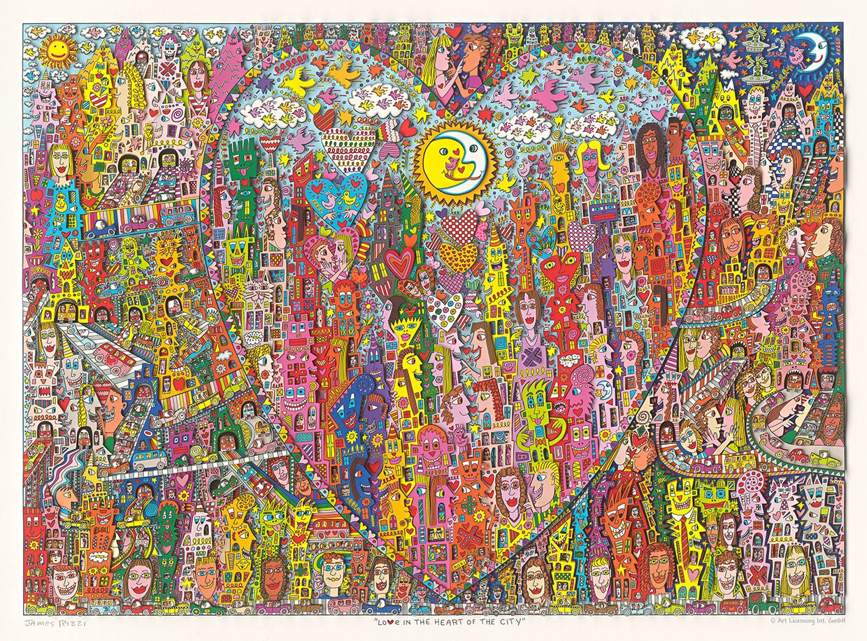 Love in the heart of the city - Rizzi, James - k-2012RIZ8