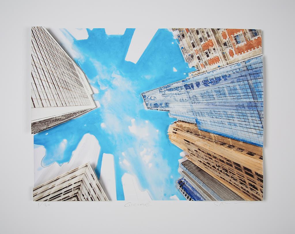 View of the sky of new york - Salzmann, Gottfried - k-2101GS6