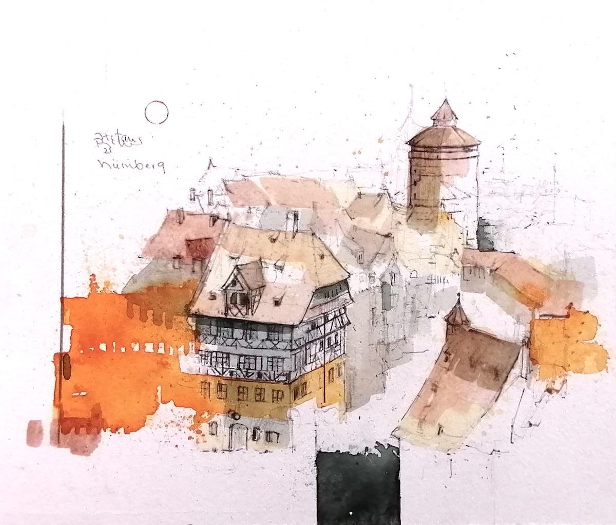 Nürnberg Dürerhaus - Becker, Stefan - k-2102Stb2