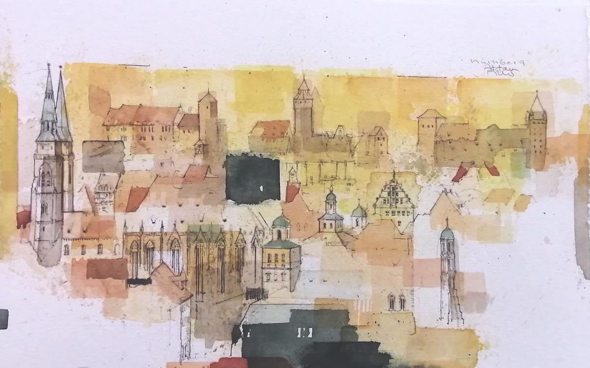 Nürnberg Burg - Becker, Stefan - k-2102Stb3