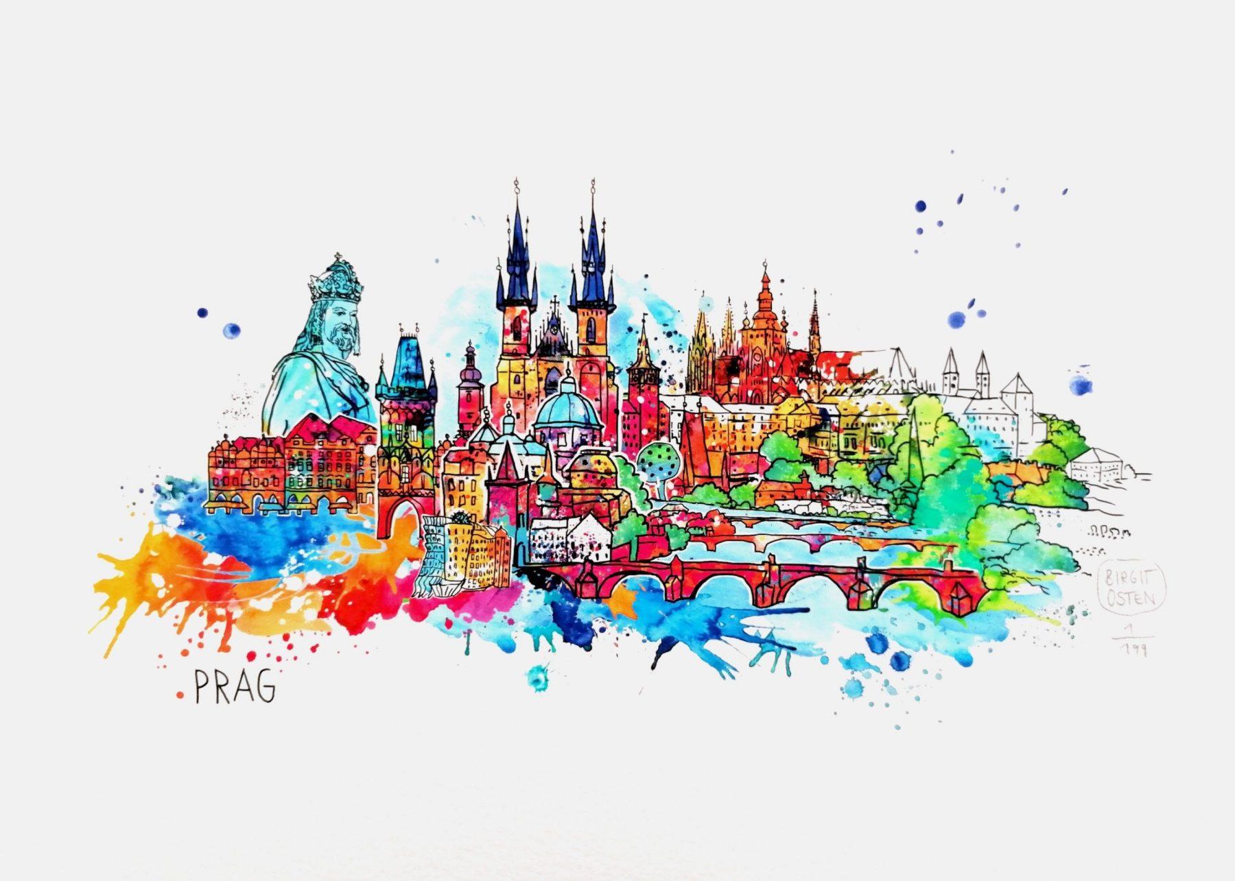 Prag - Osten, Birgit - k-BO94