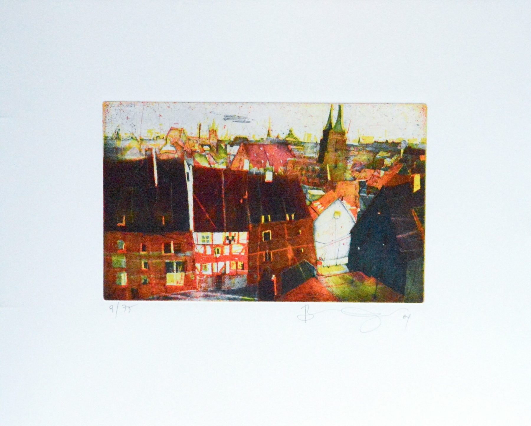Nürnberg von der Burg I - Vogel, Bernhard - k-BVG147