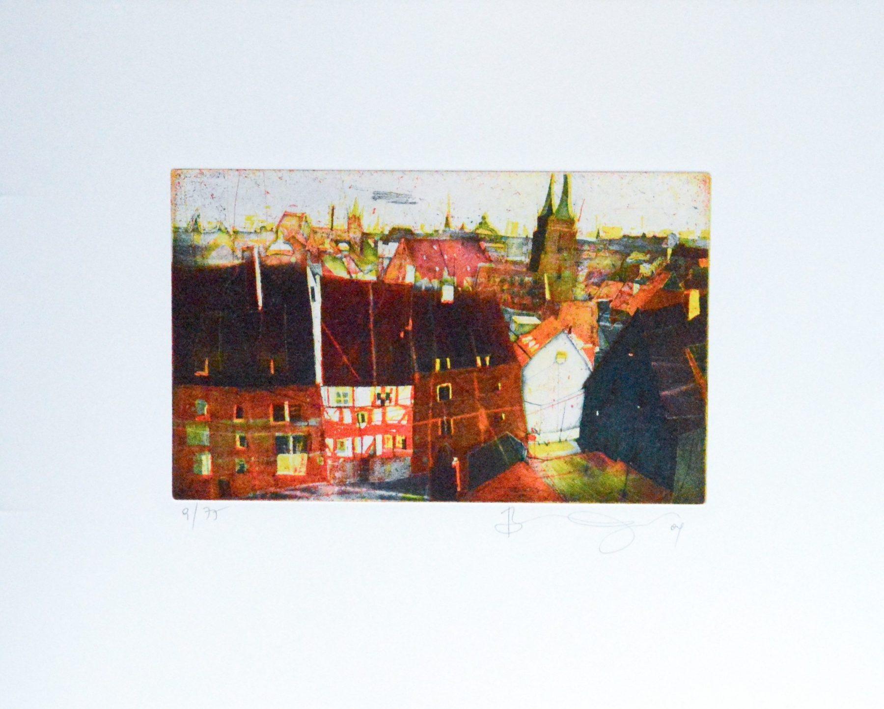 Nürnberg von der Burg II - Vogel, Bernhard - k-BVG148