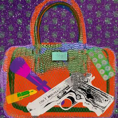 Pistols orange - Cobra Art - k-CAC4049