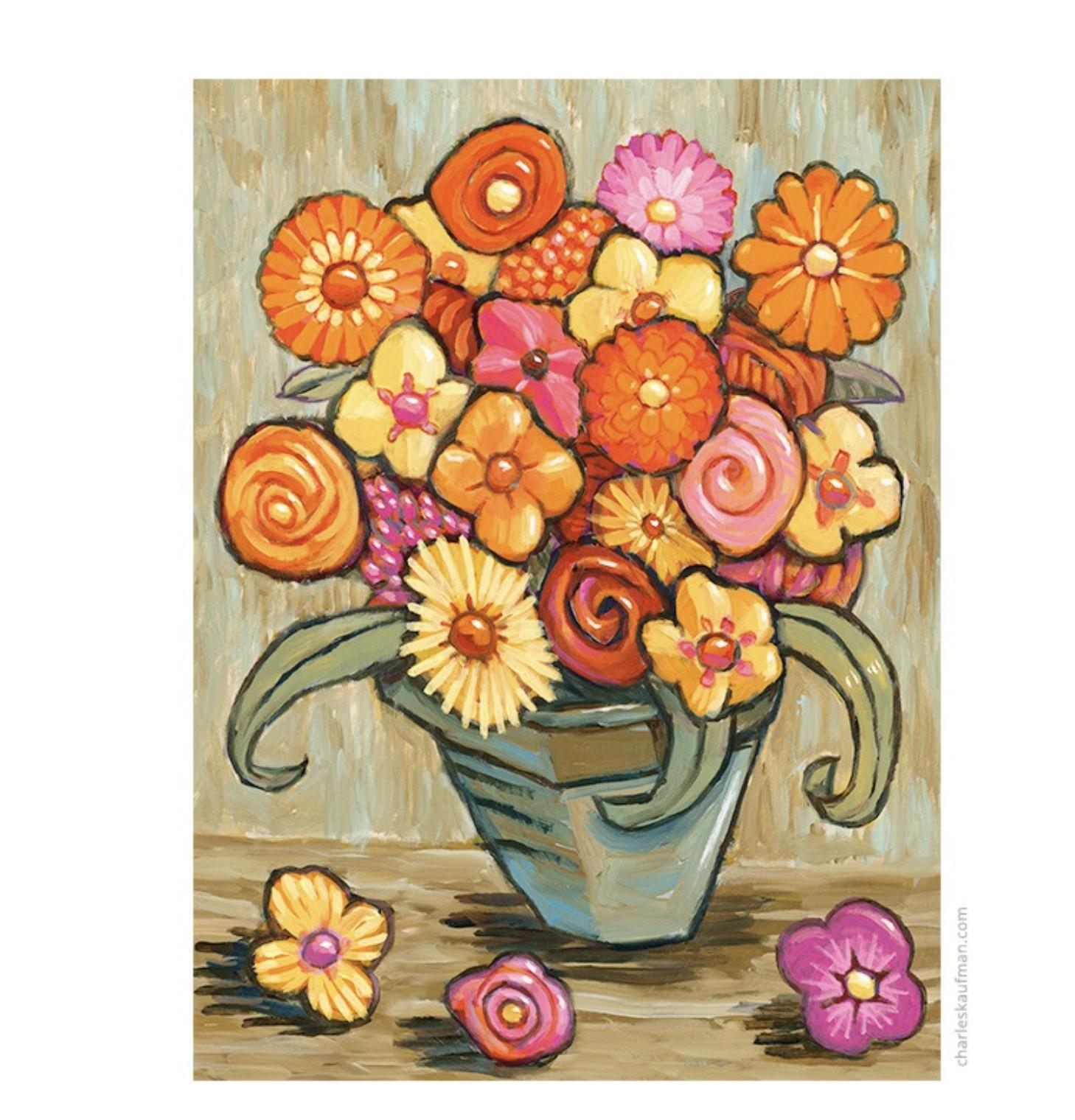 Bouquet of Flowers - Kaufmann, Charles - k-CHK395
