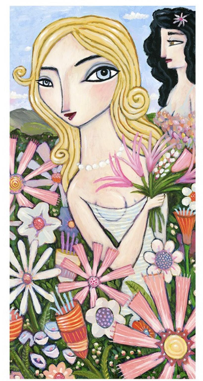 Spring Flowers - Kaufmann, Charles - k-CHK396