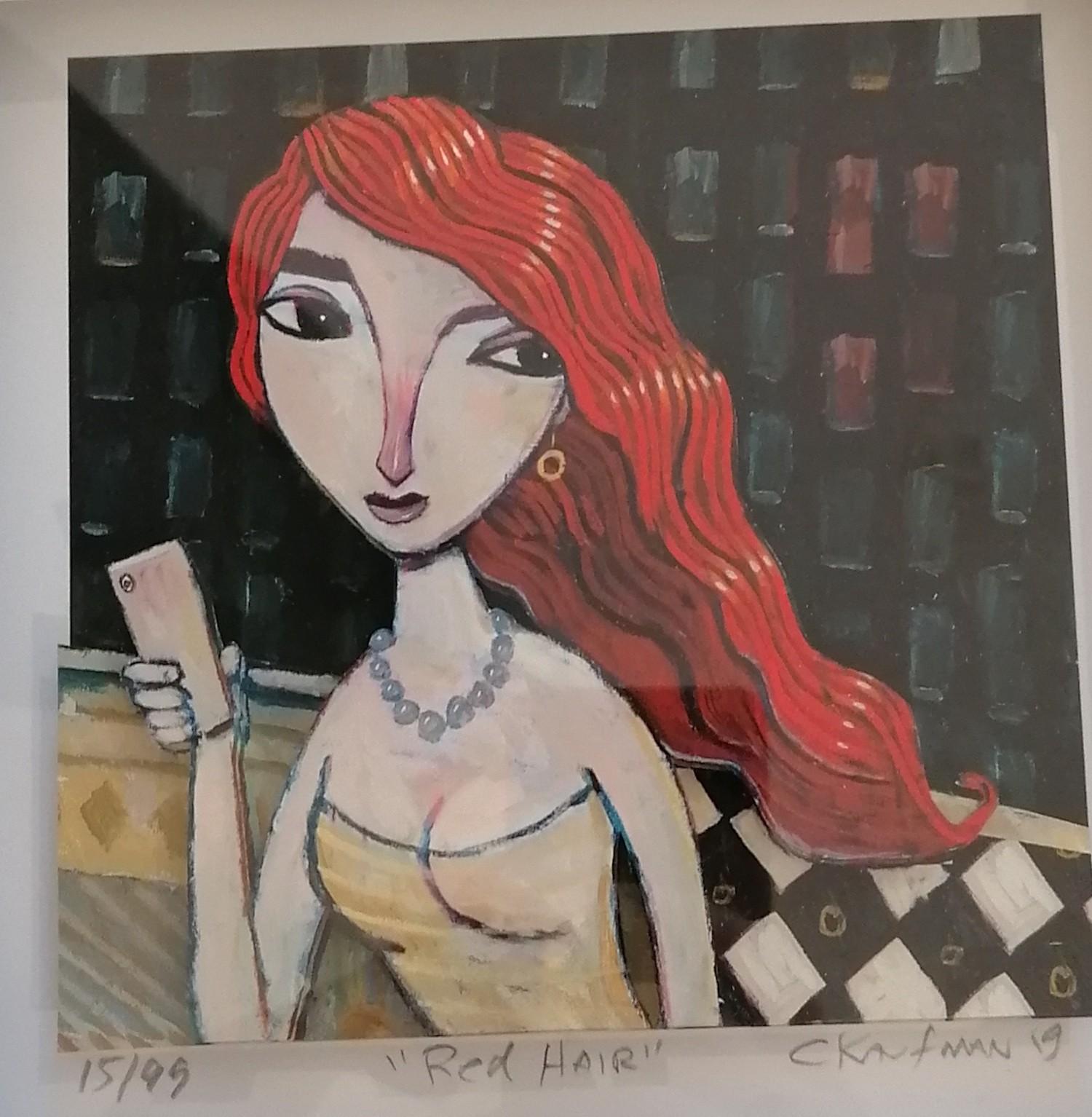 red hair - Kaufmann, Charles - k-CHK398